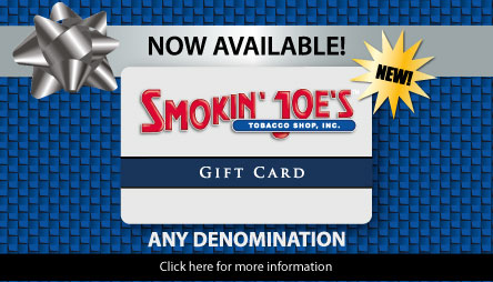 Smokin' Joe's Gift Cards now available